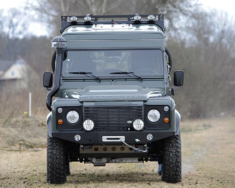Unterfahrschutz Aluminium Land Rover Defender
